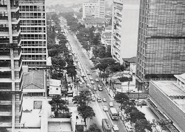 Avenida Paulista (década de 1960)