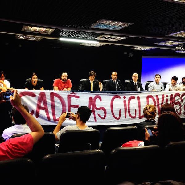 Audiência Pública debate a implantação do PDC. (Foto: Ameciclo)